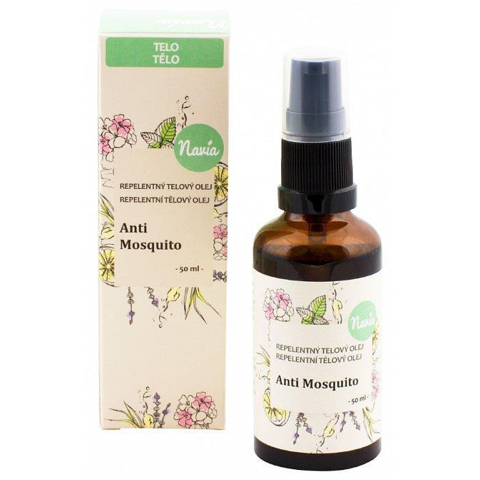 Navia Repelentní tělový olej Anti Mosquito BIO 50ml