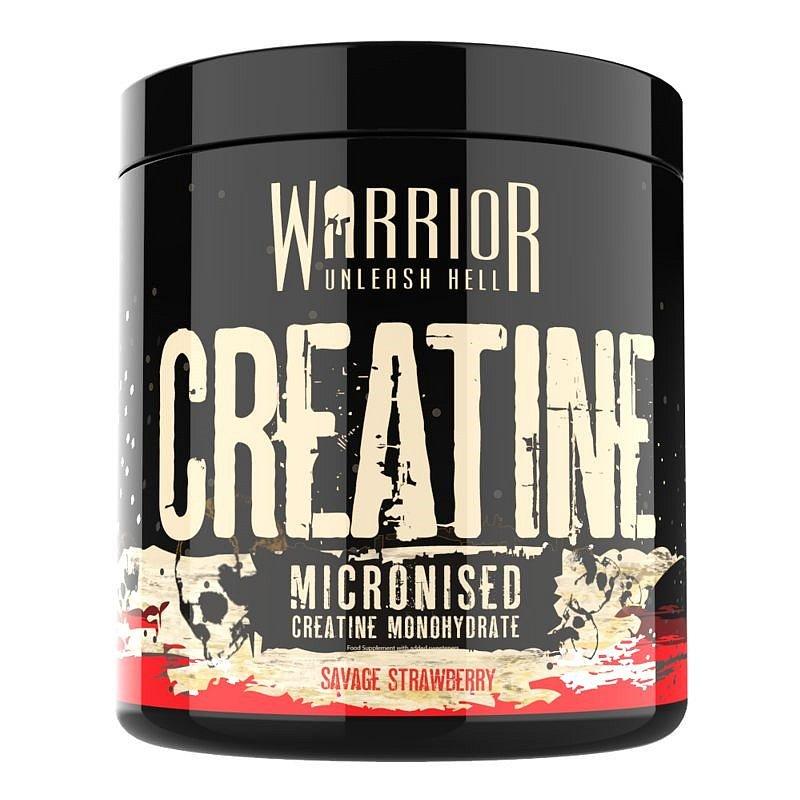 Warrior Creatine Micronised savage strawberry 300g