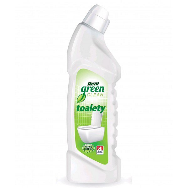 Real Green Clean WC čistič 750 g
