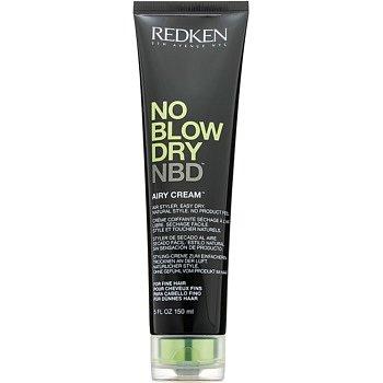 Redken No Blow Dry stylingový krém pro jemné vlasy s rychleschnoucím efektem  150 ml