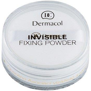 Dermacol Invisible transparentní pudr odstín White 13 g