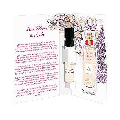 Dermacol parfémovaná voda Peach Blossom & Lilac tester  2 ml
