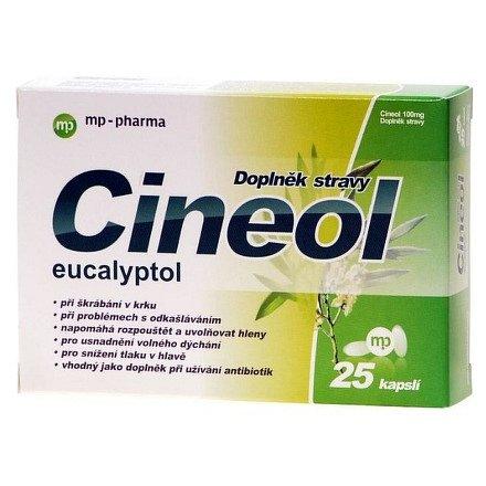 Cineol manitera 100 mg orální tobolky 25