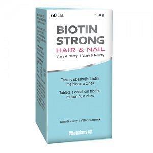 BIOTIN STRONG Hair&Nail tbl 60