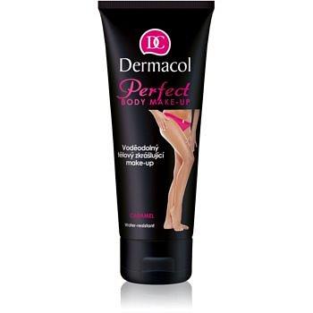 Dermacol Perfect voděodolný tělový zkrášlující make-up odstín Caramel 100 ml