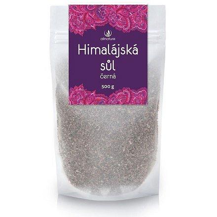 Allnature Himalájská sůl černá 500 g