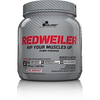 Redweiler, 480 g, Olimp, Red Punch