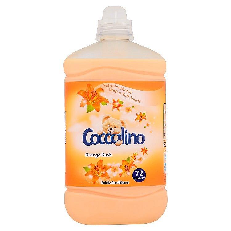 Coccolino Orange Rush aviváž 72 praní 1,8 l