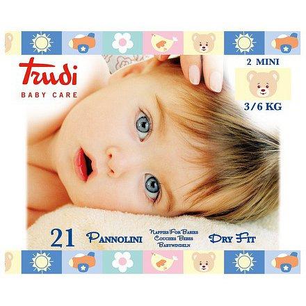 Trudi dětské pleny velikost Mini 3-6kg 21ks