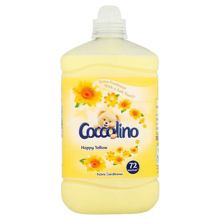 Coccolino Happy Yellow aviváž 72 praní 1,8 l