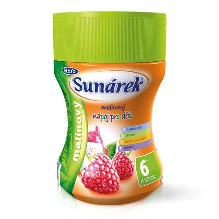 Sunárek rozpustný nápoj malinový 200g (bez sacharózy)