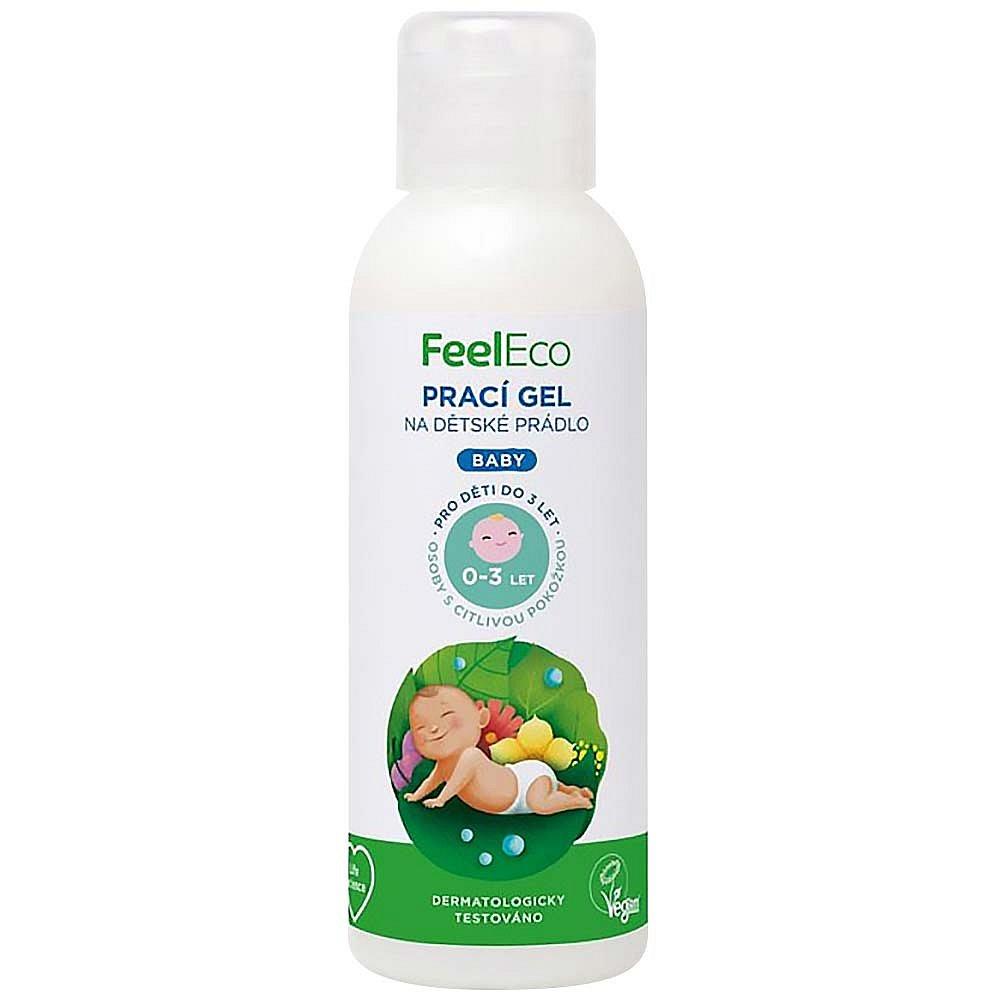 FEEL ECO prací gel na dětské prádlo 100 ml