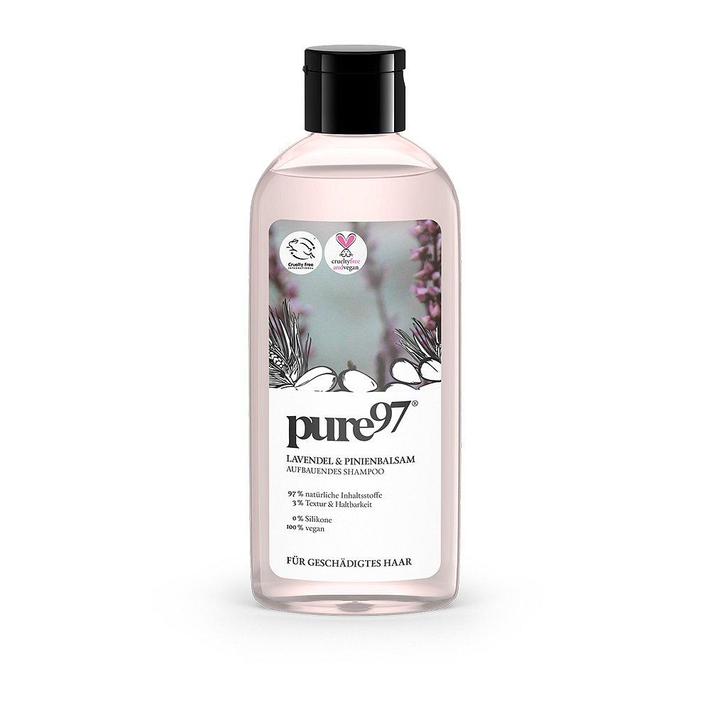 Pure97 Obnovující šampon pro poškozené vlasy 250 ml