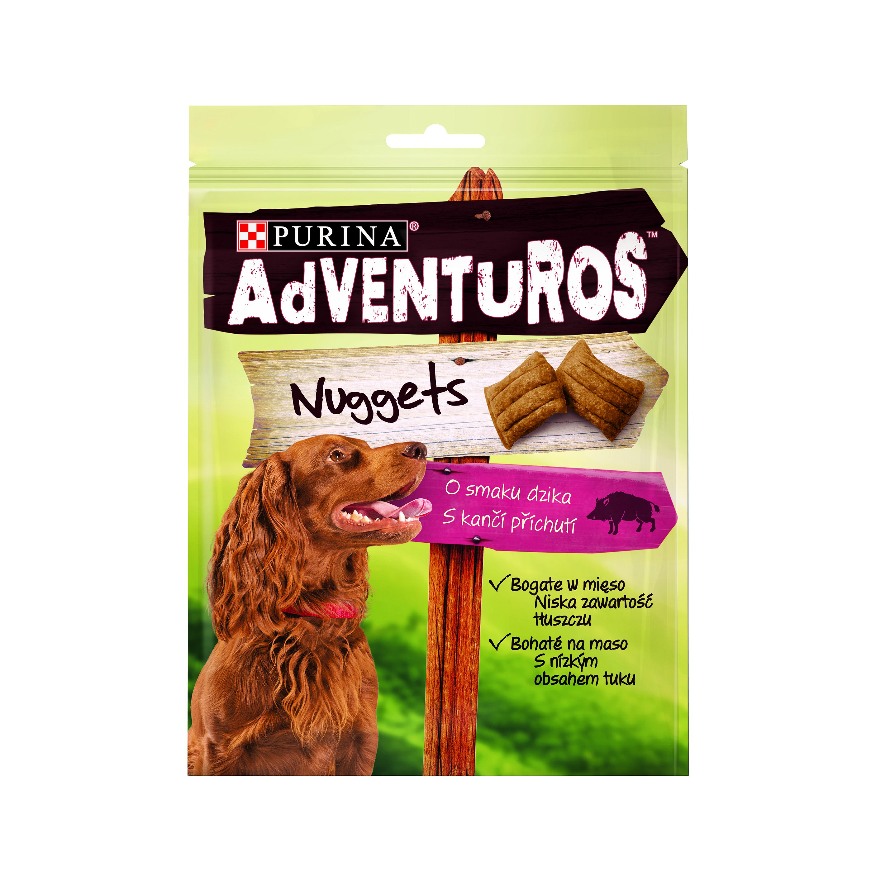 ADVENTUROS Snack Nuggets kančí 90g