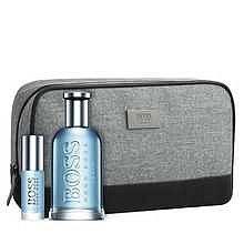 HUGO BOSS Boss Bottled Tonic Dárková sada pánská toaletní voda 100 ml, miniaturka Boss Bottled Tonic pánská toaletní voda 8 ml a kosmetická taška