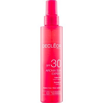Decléor Aroma Sun Expert opalovací olej na tělo a vlasy SPF 30  150 ml