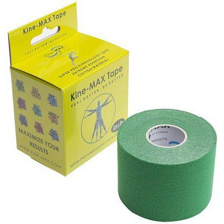 KineMAX SuperPro Cotton kinesio tejp zel.5cmx5m