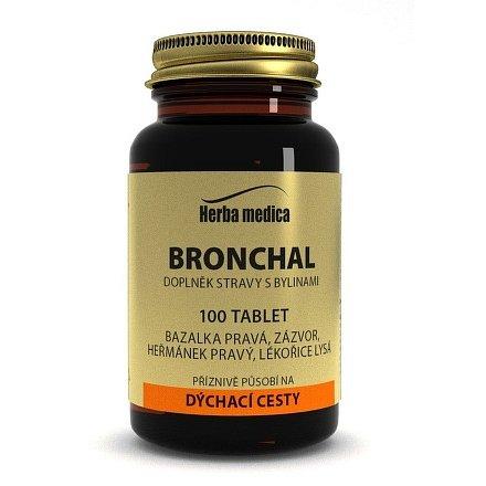 Herba medica Bronchal 100 tbl.