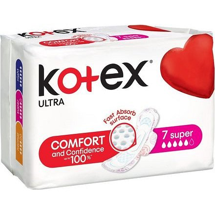 KOTEX Ultra Super vložky 7ks