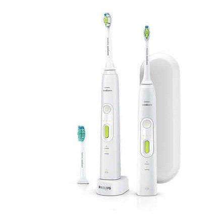 Philips Sonicare HealthyWhite+ Sonický elektrický zubní kartáček dvě těla HX8923/34