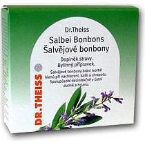 Dr.Theiss Šalvěj.bonbóny+vitamin C 50g