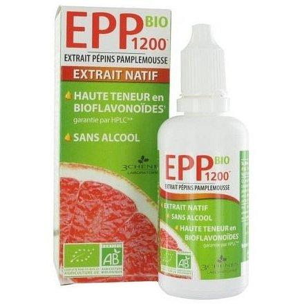 Les 3 Chênes EPP BIO1200 extrakt z grepových jader 50 ml