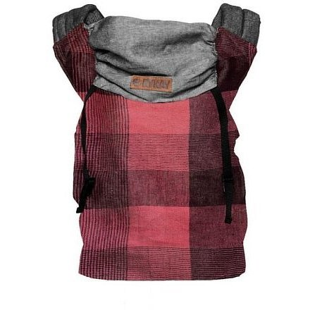 ByKay klokanka CLICK CARRIER REVERSIBLE Red Plaid (vel. baby)