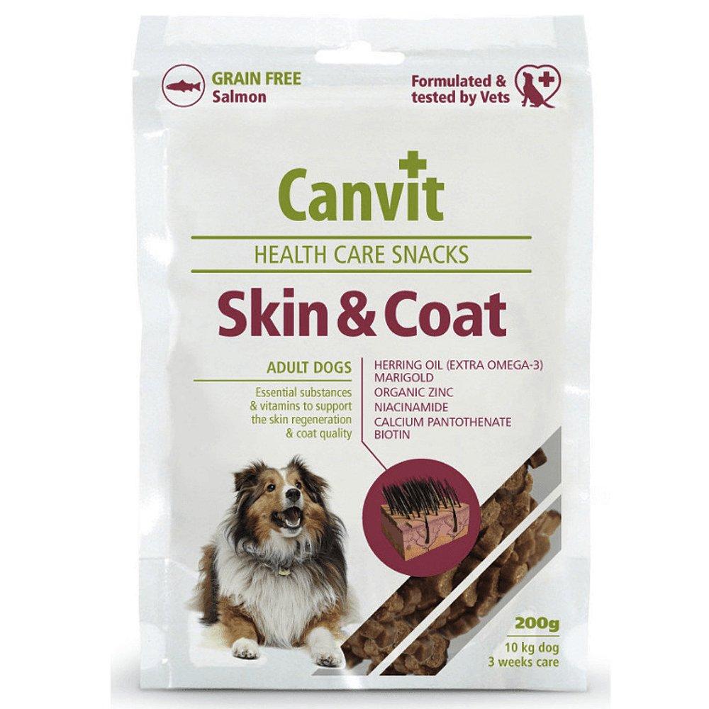 CANVIT Snacks Skin & Coat 200 g