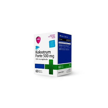 Kolostrum Forte 500 mg tablety 60