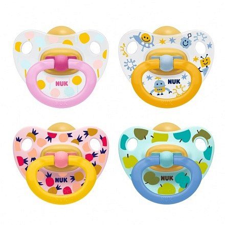 NUK Dudlík Happy Kids LA V1(0-6m) 1ks