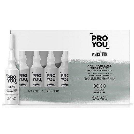 Revlon Professional Kúra proti vypadávání vlasů Pro You The Winner  6 x 12 ml