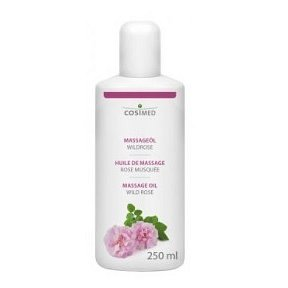 cosiMed masážní olej Divoká růže - 250 ml