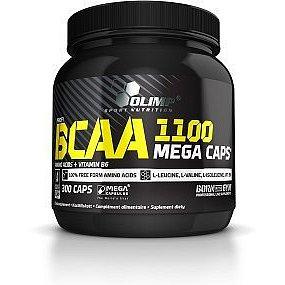BCAA Mega Caps, Olimp, 300 kapslí