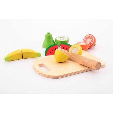 Jouéco dřevěné krájecí ovoce 14ks 36m+