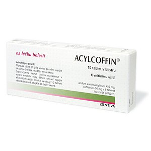 Acylcoffin tablety 10