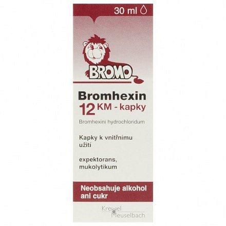 Bromhexin 12 KM-kapky perorální kapky roztok 30 ml