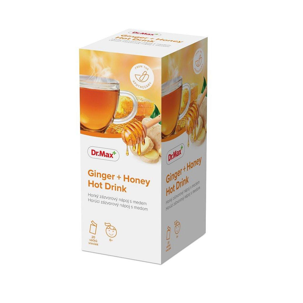 Dr.Max Ginger + Honey Hot Drink 20 sáčků