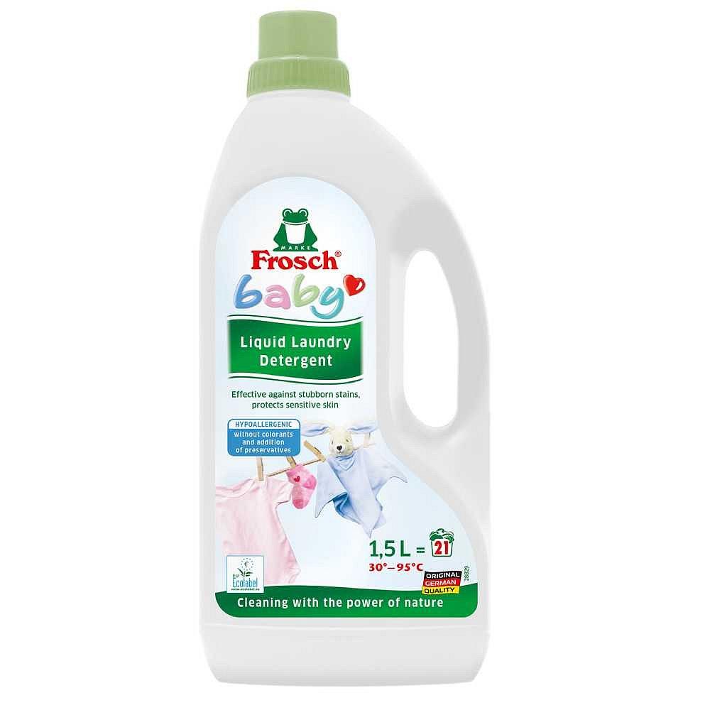 FROSCH Eko Hypoalergenní prací prostředek na kojenecké prádlo 1500 ml