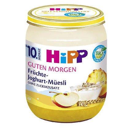 HiPP OV.A JOGURT BIO Musli. ovoce a jogurt 160g