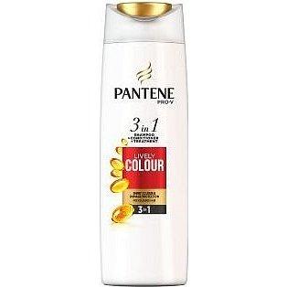 Pantene šampón 3v1 Lively Colour 360ml