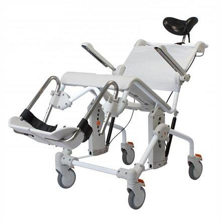 SWIFT Mobil Tilt - Polohovací sprchové a toaletní křeslo pojízdné