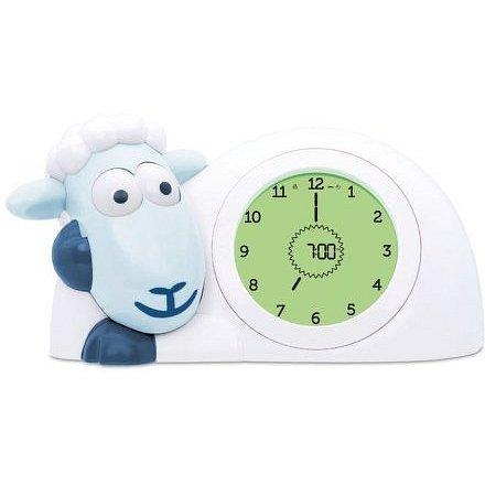 ZAZU Ovečka SAM modrá - tréninkový budík s nočním světlem