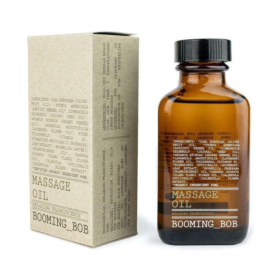Booming Bob BIO Masážní olej Relaxing Frankincense 89 ml