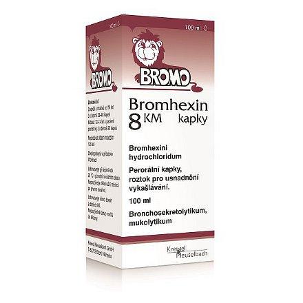 Bromhexin 8 KM kapky kapky 1 x 100 ml 8 mg/ml