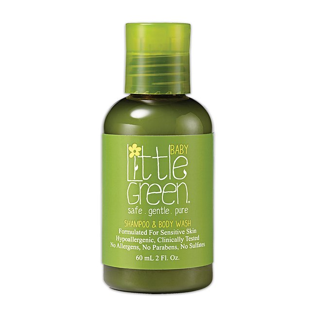 Little Green Baby šampon a sprchový gel 60ml