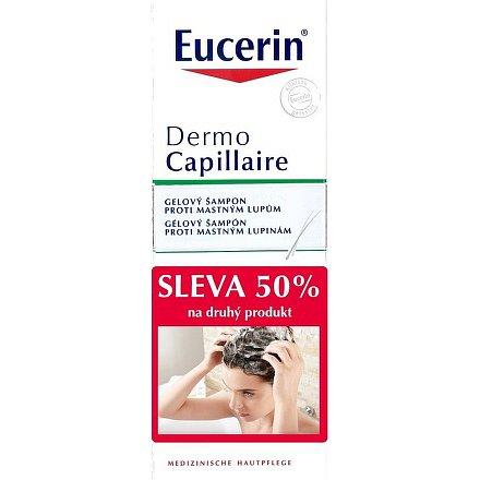 EUCERIN DermoCapillaire šampon mastné lupy